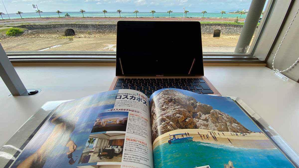 沖縄にバカンスできたら恩納村の図書館!身分証明書で村外でも本を借りられる